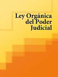 Espana -Ley Organica del Poder Judicial