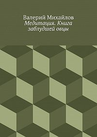 Валерий Михайлов - Медитация. Книга заблудшейовцы