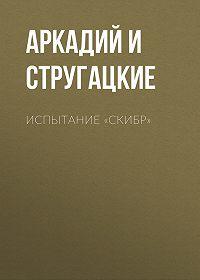 Аркадий и Борис Стругацкие -Испытание «СКИБР»