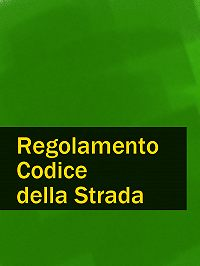 Italia -Regolamento Codice della Strada