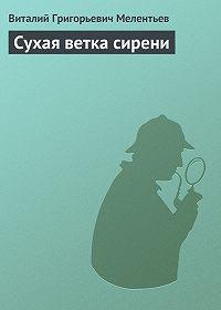 Виталий Мелентьев -Сухая ветка сирени