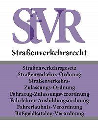 Deutschland -Straßenverkehrsrecht – StVR