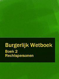 Nederland -Burgerlijk Wetboek boek 2