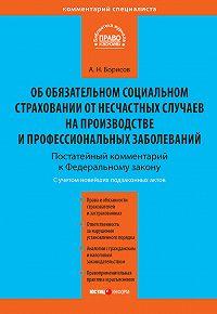 А. Н. Борисов -Комментарий к Федеральному закону от 24 июля 1998 г. №125-ФЗ «Об обязательном социальном страховании от несчастных случаев на производстве и профессиональных заболеваний» (постатейный)