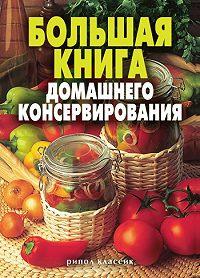 С. О. Ермакова, Екатерина Алексеевна Андреева - Большая книга домашнего консервирования