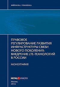 Константин Гузанов -Правовое регулирование развития инфраструктуры связи нового поколения. Внедрение LTE-технологий в России