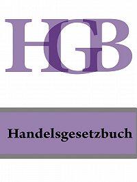 Deutschland -Handelsgesetzbuch – HGB