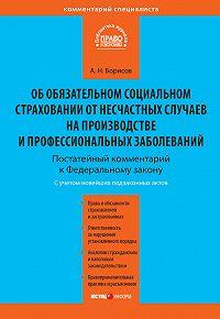 А. Н. Борисов - Комментарий к Федеральному закону от 24 июля 1998 г. №125-ФЗ «Об обязательном социальном страховании от несчастных случаев на производстве и профессиональных заболеваний» (постатейный)