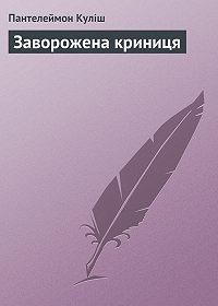 Пантелеймон Куліш -Заворожена криниця