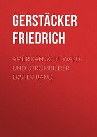 Friedrich Gerstäcker -Amerikanische Wald- und Strombilder. Erster Band.