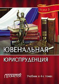 Коллектив авторов -Ювенальная юриспруденция. Том 3
