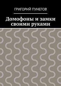 Григорий Пунегов -Домофоны и замки своими руками