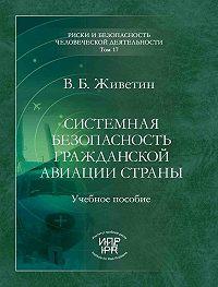 Владимир Живетин -Системная безопасность гражданской авиации страны (анализ, прогнозирование, управление)