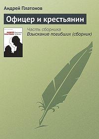 Андрей Платонов -Офицер и крестьянин