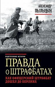 Александр Пыльцын -Правда о штрафбатах. Как офицерский штрафбат дошел до Берлина