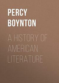 Percy Boynton -A History of American Literature