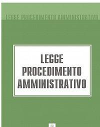 Italia -Legge Procedimento Amministrativo
