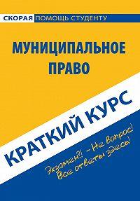 Коллектив авторов -Муниципальное право. Краткий курс