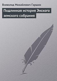 Всеволод Гаршин -Подлинная история Энского земского собрания