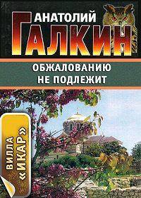 Анатолий Галкин - Обжалованию не подлежит