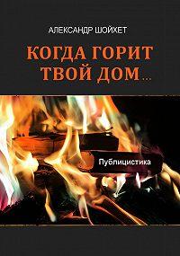Александр Шойхет -Когда горит твой дом… Публицистика