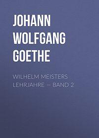 Johann Wolfgang -Wilhelm Meisters Lehrjahre – Band 2