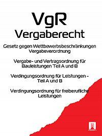 Deutschland -Vergaberecht – VgR