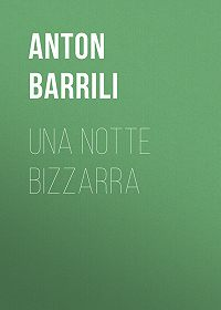 Anton Barrili -Una notte bizzarra