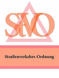Deutschland -Straßenverkehrs-Ordnung – StVO