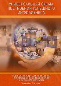Александр Строганов -Универсальная схема построения успешного инфобизнеса