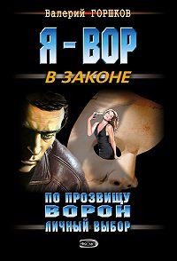 Валерий Горшков -Личный выбор