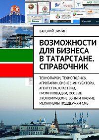 Валерий Зимин -Возможности для бизнеса вТатарстане. Справочник