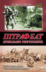 Андрей Юрьевич Орлов -Штрафбат. Приказано уничтожить