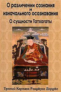 Третий Кармапа Ранджунг Дордже - О различении сознания и изначального осознавания. О сущности Татхагаты