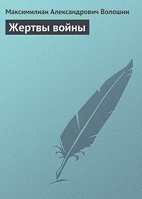 Максимилиан Александрович Волошин -Жертвы войны