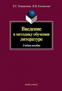 Е. С. Романичева -Введение в методику обучения литературе: учебное пособие
