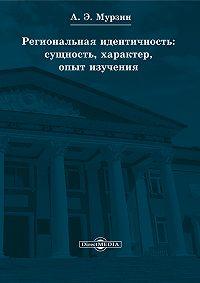 Андрей Мурзин -Региональная идентичность: сущность, характер, опыт изучения