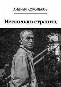 Андрей Корольков -Несколько страниц