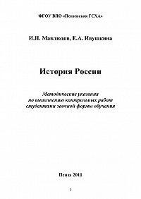 Ильдар Мавлюдов -История России