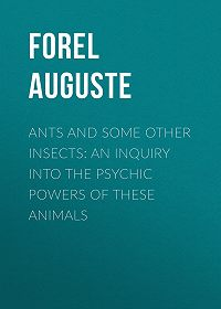Auguste Forel -Ants and Some Other Insects: An Inquiry Into the Psychic Powers of These Animals