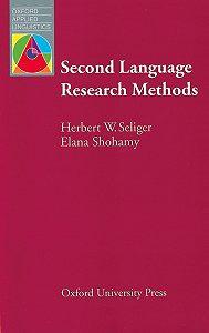 Elana Shohamy -Second Language Research Methods