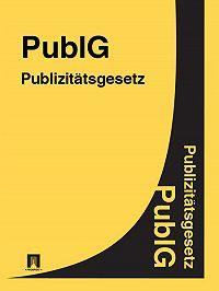 Deutschland -Publizitätsgesetz – PublG