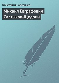 Константин Арсеньев - Михаил Евграфович Салтыков-Щедрин