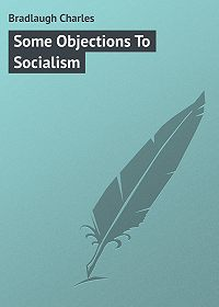 Charles Bradlaugh -Some Objections To Socialism