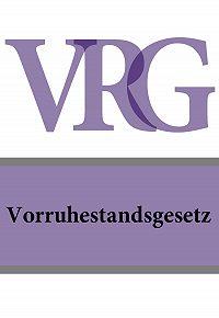 Deutschland -Vorruhestandsgesetz – VRG