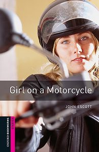 John Escott -Girl on a Motorcycle