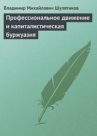 Владимир Шулятиков -Профессиональное движение и капиталистическая буржуазия