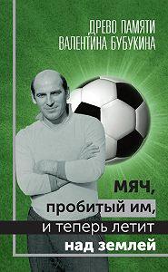 Гагик Карапетян -Мяч, пробитый им, и теперь летит над землей. Древо памяти Валентина Бубукина