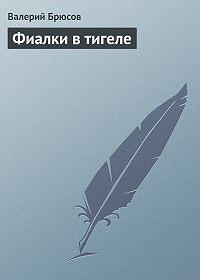 Валерий Брюсов -Фиалки втигеле