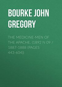 John Bourke -The Medicine-Men of the Apache. (1892 N 09 / 1887-1888 (pages 443-604))